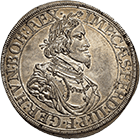 Holy Roman Empire, Imperial City of Augsburg, Taler 1641 (obverse)
