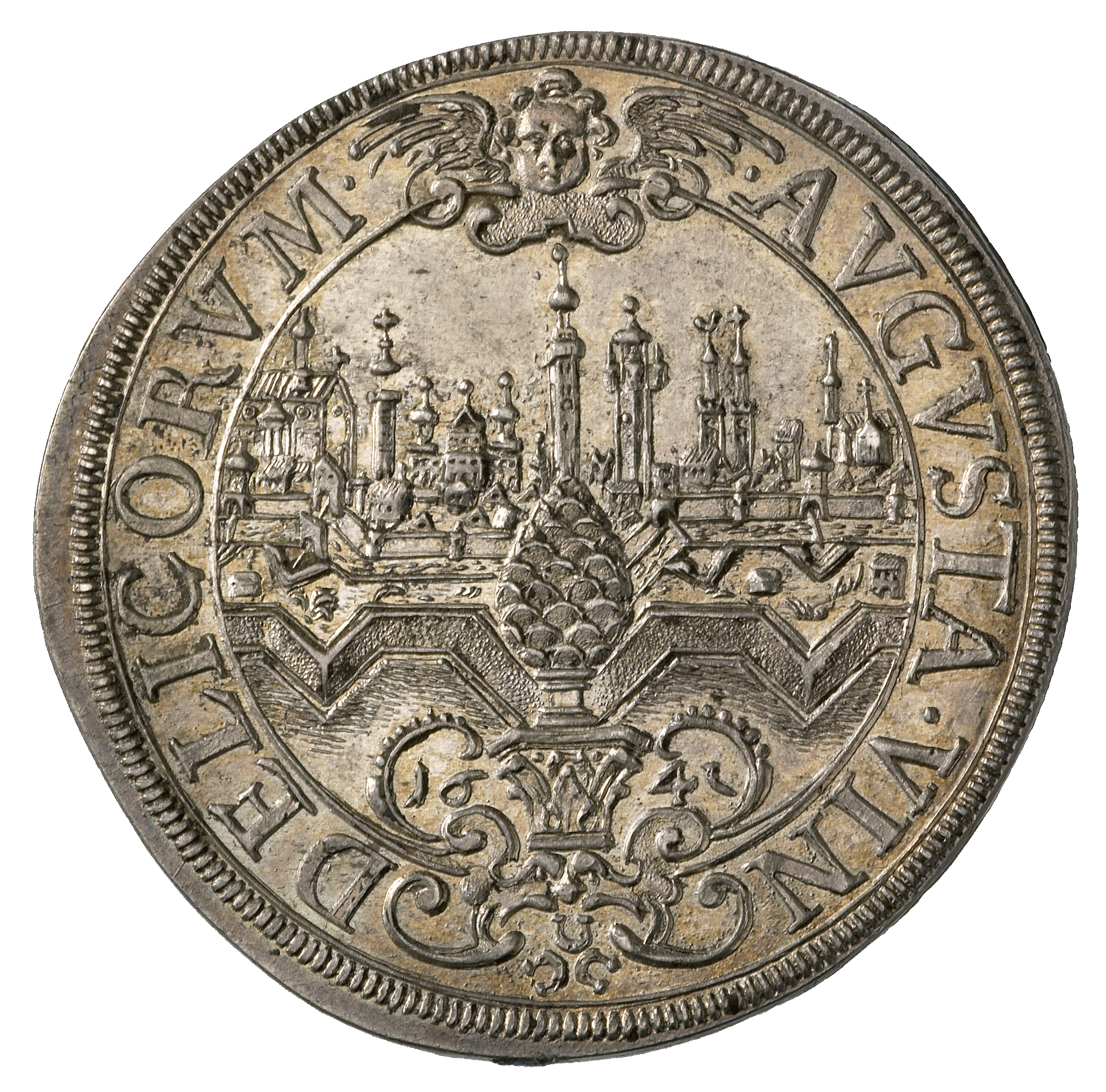Holy Roman Empire, Imperial City of Augsburg, Taler 1641 (reverse)