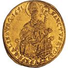 Holy Roman Empire, Archbishopric Salzburg, Paris of Lodron, 1/2 Ducat 1651 (obverse)