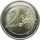 Republic of Estonia, 2 Euros 2011, Rahapaja (obverse)