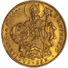 Holy Roman Empire, Archbishopric Salzburg, Franz Anton of Harrach, Ducat 1716 (obverse)