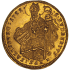 Holy Roman Empire, Archbishopric Salzburg, Franz Anton of Harrach, Ducat 1722 (obverse)