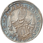Holy Roman Empire, County of Montfort, Hugh and John VII, Taler 1621 (obverse)