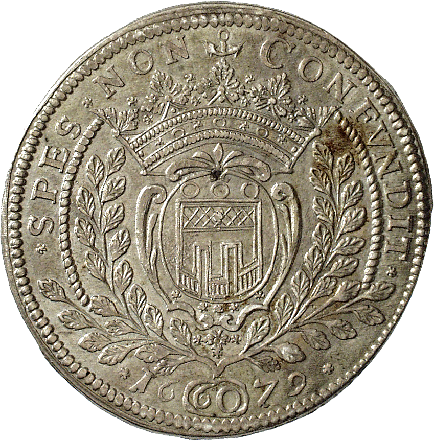 Holy Roman Empire, County of Montfort, John VIII, Gulden 1679 (reverse)
