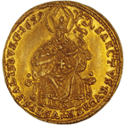 Holy Roman Empire, Archbishopric Salzburg, Guidobald of Thun and Hohenstein, 1/2 Ducat 1659 (obverse)