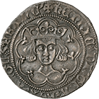 Kingdoms of England and France, Henry VI, Groat (obverse)