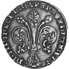 Republic of Florence, Fiorino d'Argento (Grosso) (obverse)