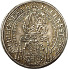 Holy Roman Empire, Archbishopric Salzburg, Johann Ernst of Thun and Hohenstein, Taler 1699 (obverse)