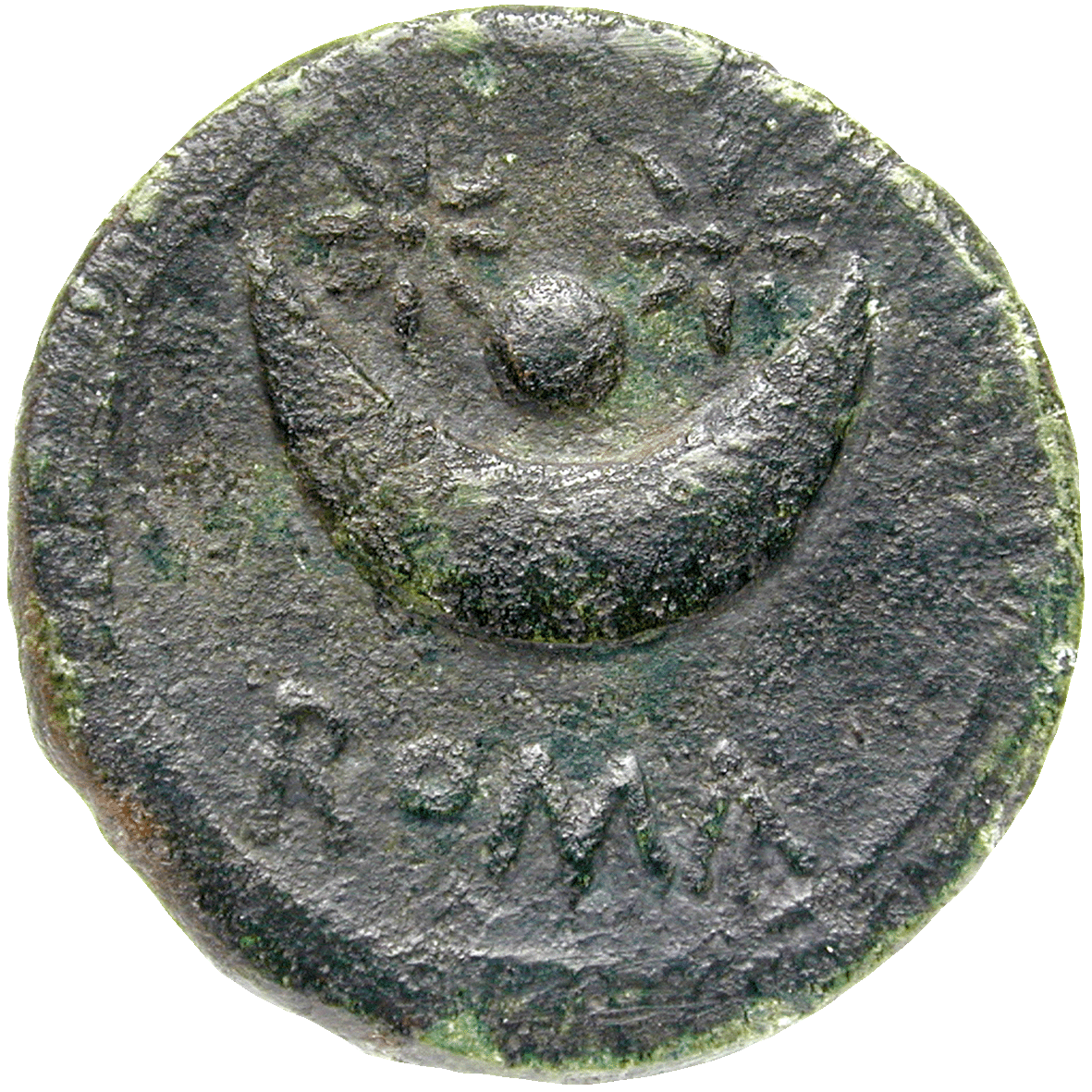 Roman Republic, anonymous Uncia (reverse)