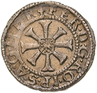 Holy Roman Empire, County of Tyrol, Ferdinand I, Kreuzer undated, Hall (obverse)