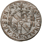Holy Roman Empire, Archbishopric Salzburg, Guidobald of Thun and Hohenstein, Kreuzer 1658 (obverse)