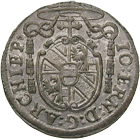 Holy Roman Empire, Archbishopric Salzburg, Johann Ernst of Thun and Hohenstein, Kreuzer 1696 (obverse)
