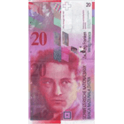 Swiss Confederation, 20 Franks 1980, 8th banknote series, in circulation since 1995 (obverse)