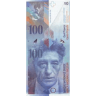Swiss Confederation, 100 Franks 1980, 8th banknote series, in circulation since 1995 (obverse)