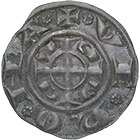 Holy Roman Empire, Republic of Verona, Frederick II of Hohenstaufen, Grosso worth 20 Denarii (obverse)