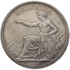 Swiss Confederation, 5 Francs 1873 (obverse)
