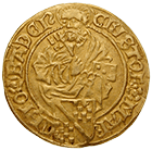 Holy Roman Empire, Margravate of Baden, Christoph I of Baden, Gulden (obverse)
