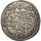 Holy Roman Empire, Archbishopric Salzburg, Johann Ernst of Thun and Hohenstein, Landbatzen 1692 (obverse)