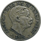 Grand Duchy of Luxembourg, Adolphe, 5 Centime 1901 (obverse)