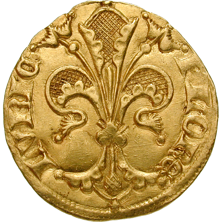Holy Roman Empire, City of Lübeck, Goldgulden (obverse)