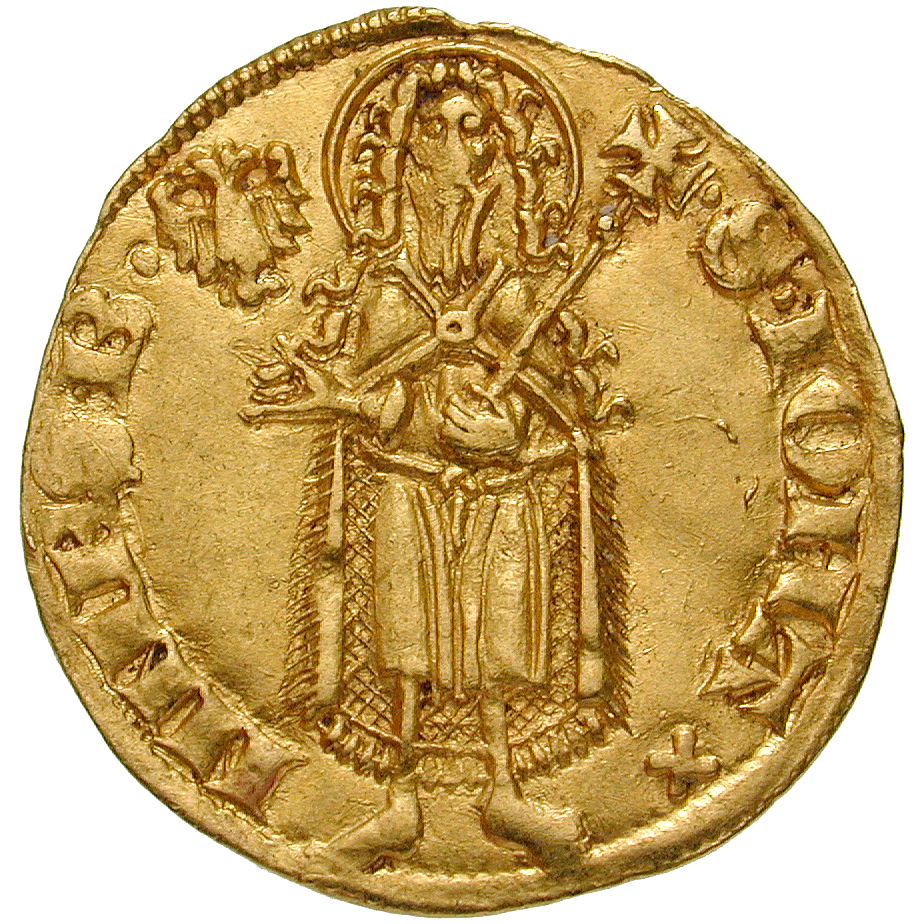 Holy Roman Empire, City of Lübeck, Goldgulden (reverse)