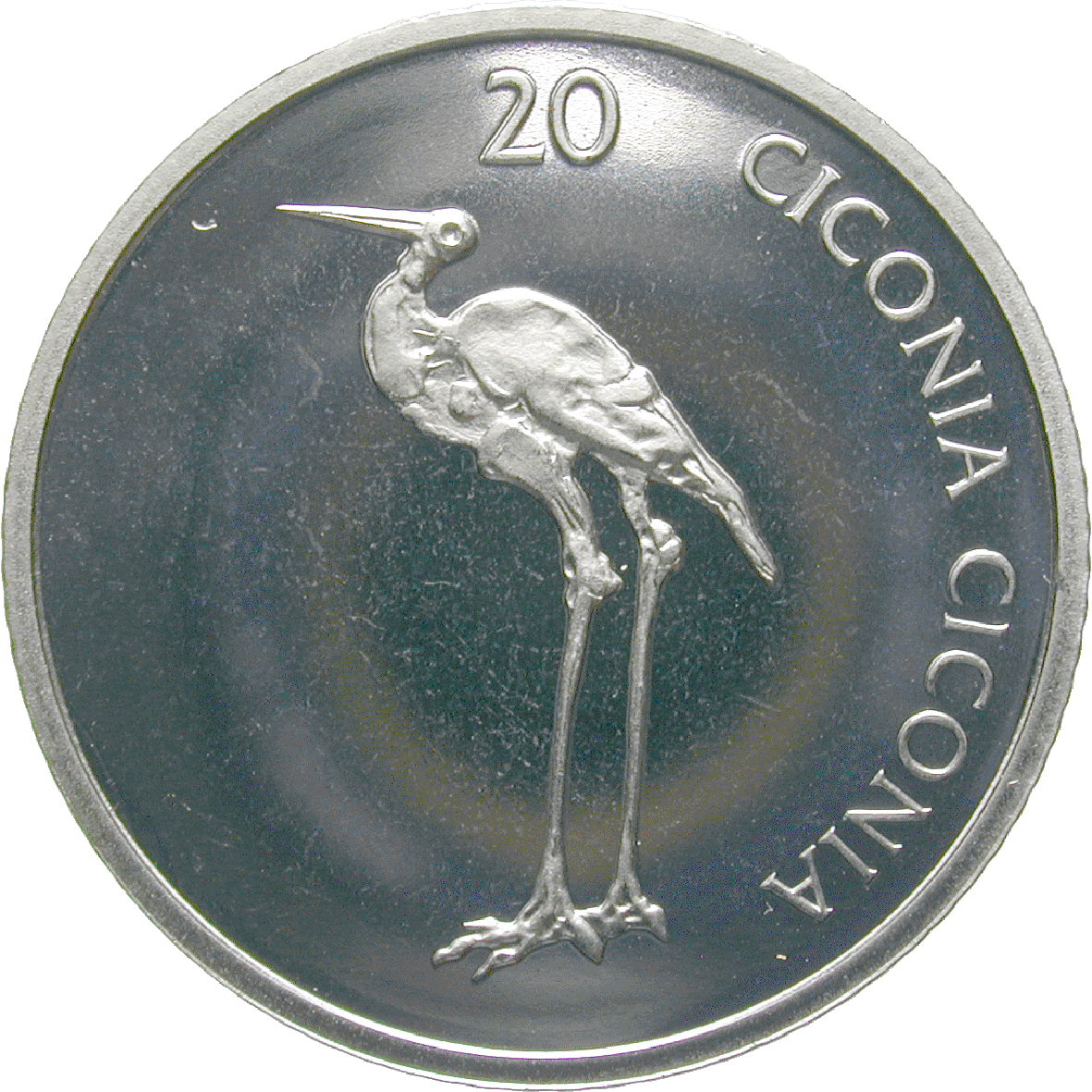 Republic of Slovenia, 20 Tolar 2006 (reverse)