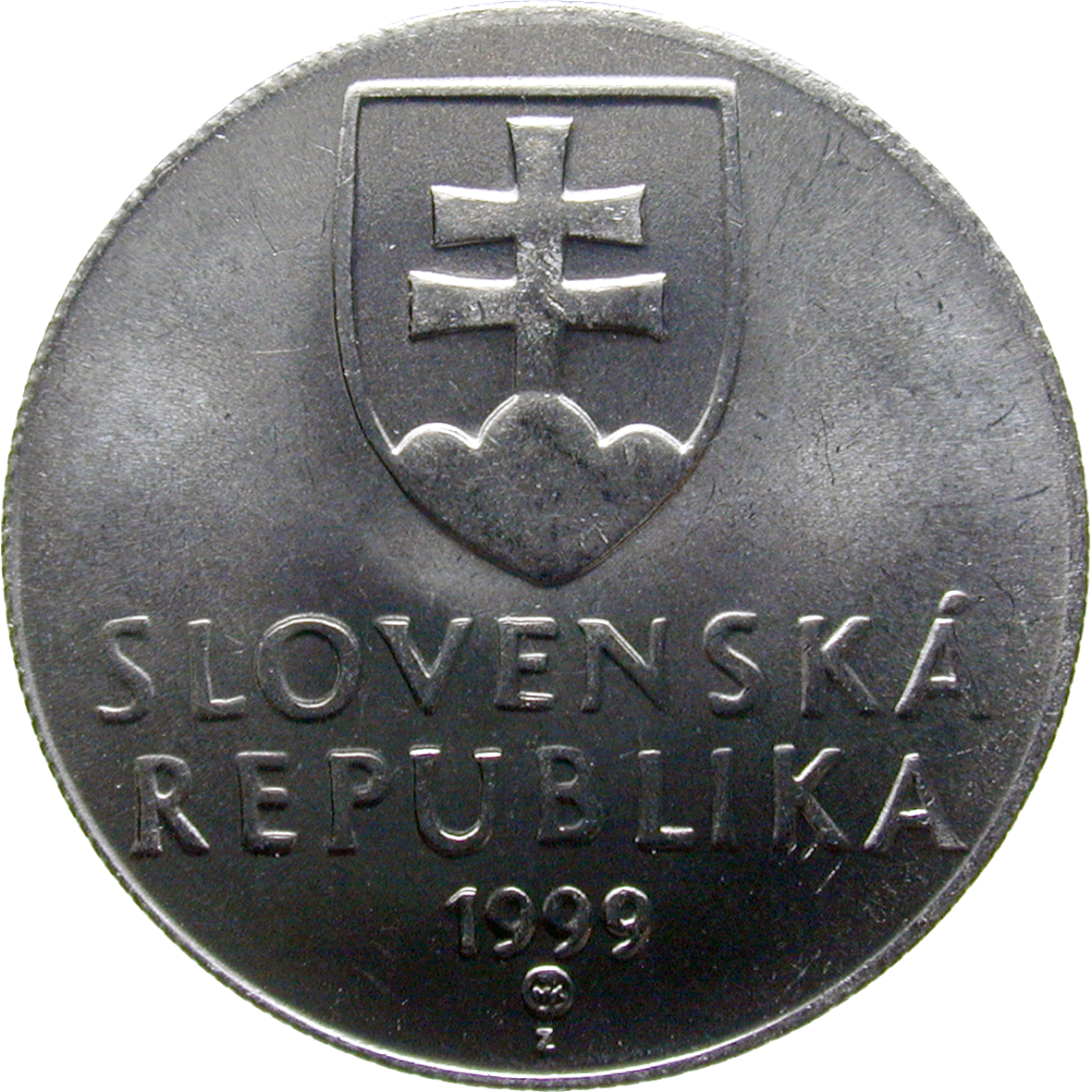 Slovak Republic, 20 Haliers 1999 (obverse)