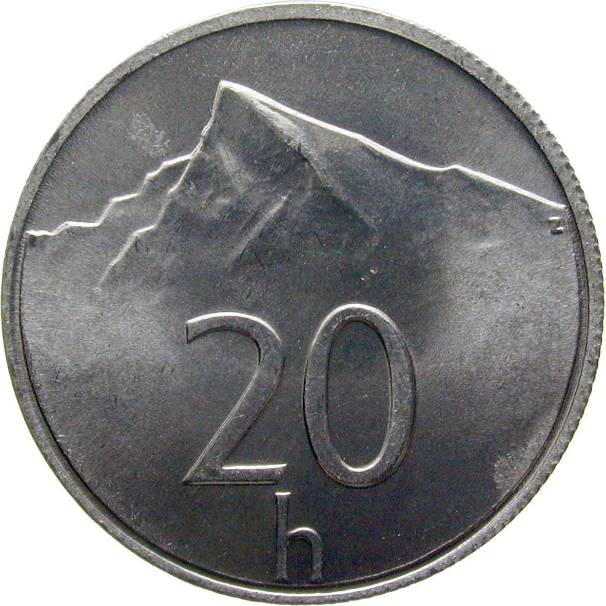Slovak Republic, 20 Haliers 1999 (reverse)