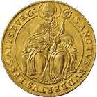 Holy Roman Empire, Archbishopric Salzburg, Marcus Sitticus of Hohenems, 4 Ducats 1612 (obverse)