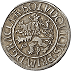 Holy Roman Empire, Kingdom of Bohemia, County of Schlick, Stephan, Guldengroschen 1519 (obverse)