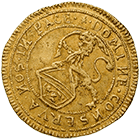 Republic of Zurich, 1/2 Ducat 1649 (obverse)