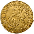 Republic of Zurich, 1/4 Ducat 1649 (obverse)