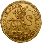 Republic of Zurich, Ducat 1697 (obverse)