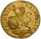 Republic of Zurich, 1/2 Ducat 1716 (obverse)