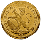 Republic of Zurich, 1/2 Ducat 1726 (obverse)