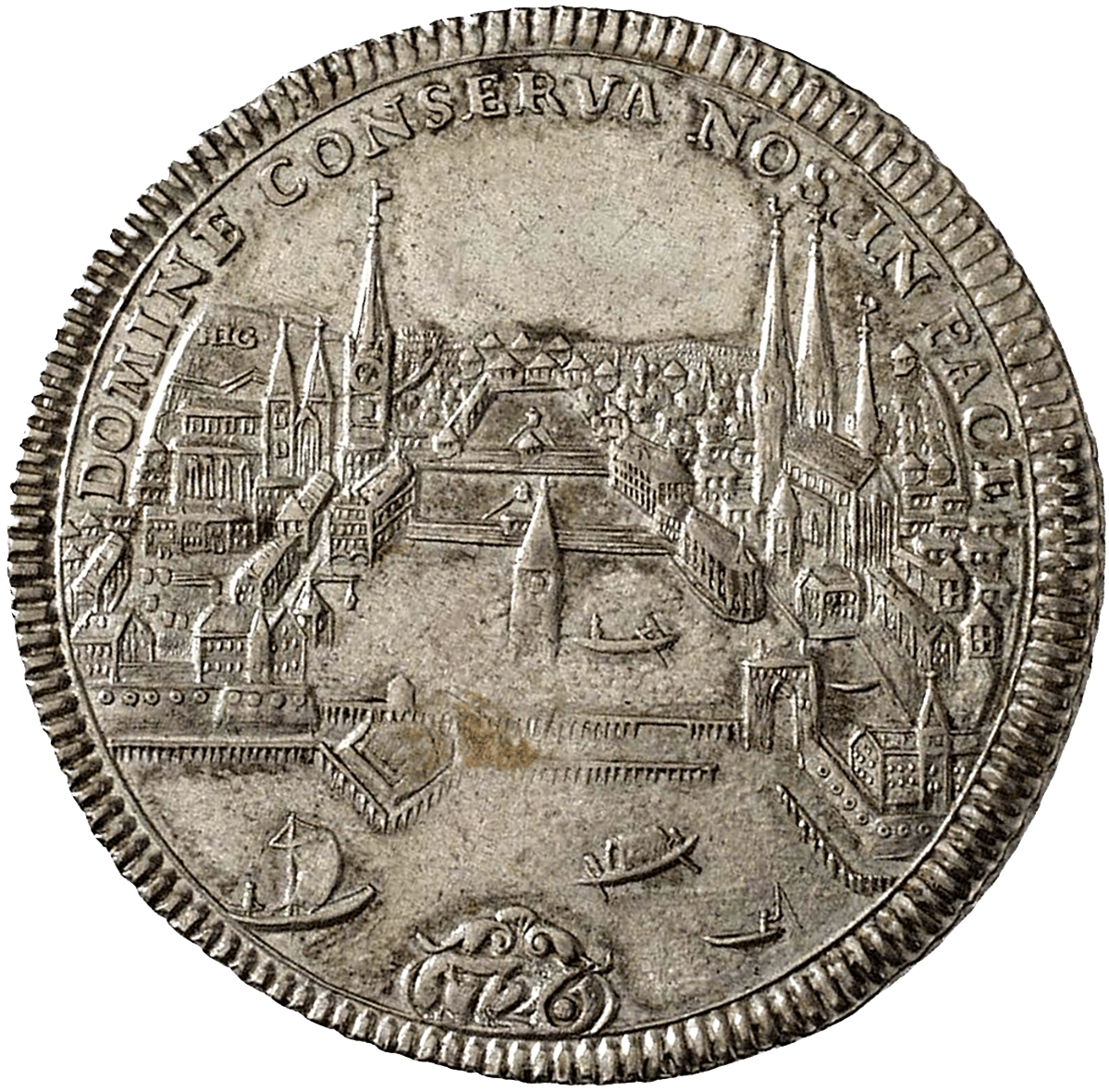 Republic of Zurich, Taler 1726 (reverse)