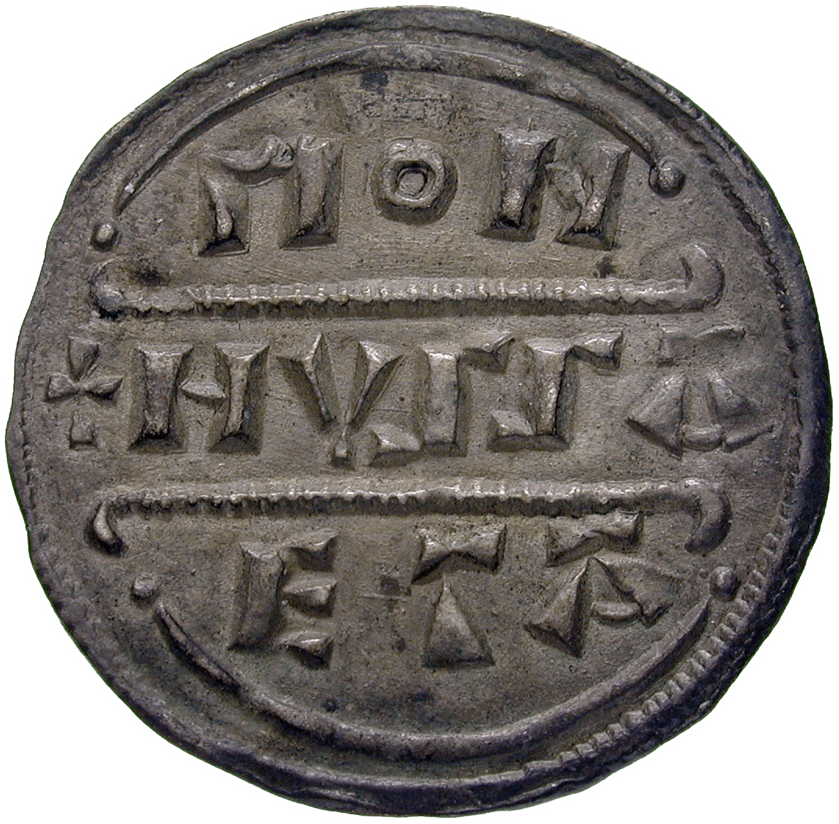 Britain, Kingdom of Mercia, Burgred, Penny (reverse)