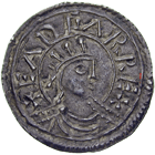 Kingdom of England, Edgar, Penny (obverse)