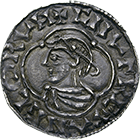 Kingdom of England, Canute I, Penny (obverse)