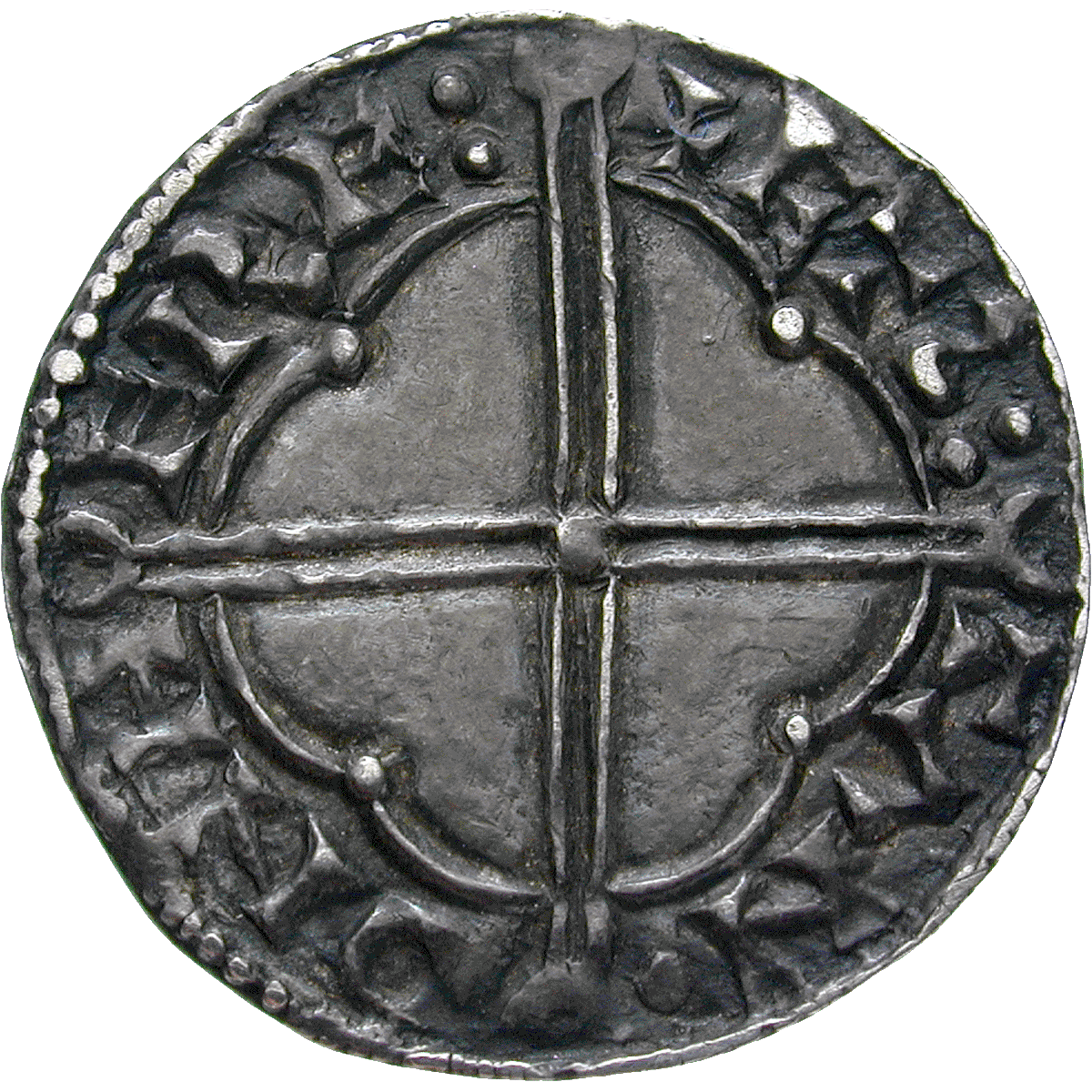 Kingdom of England, Canute I, Penny (reverse)