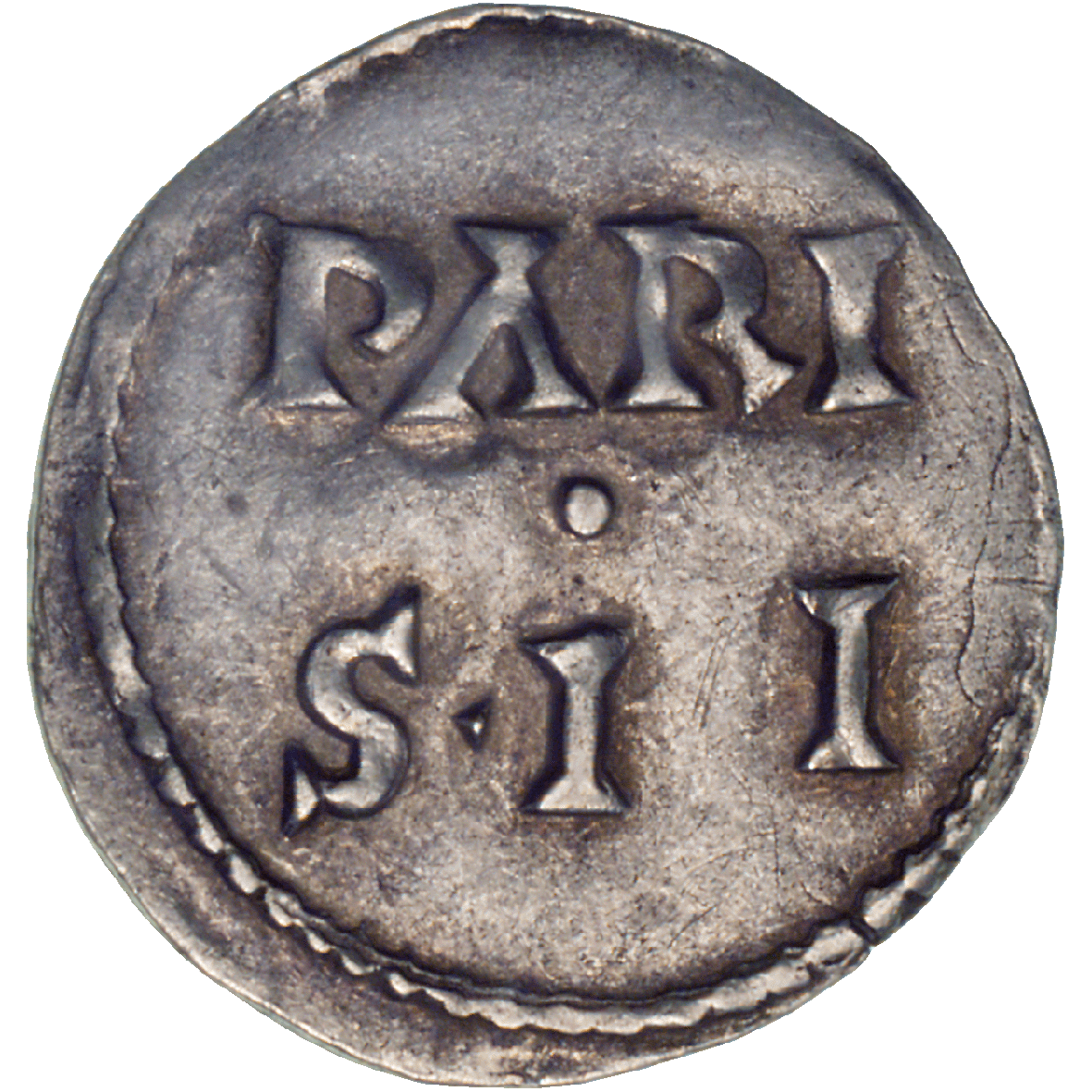 Frankish Empire, Charles II the Bald, Denarius (Pfennig) (reverse)