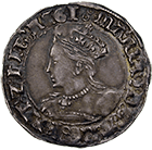 Kingdom of England, Mary I, Groat (obverse)