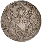 Holy Roman Empire, City of Zurich, 1/2 Taler 1647 (obverse)