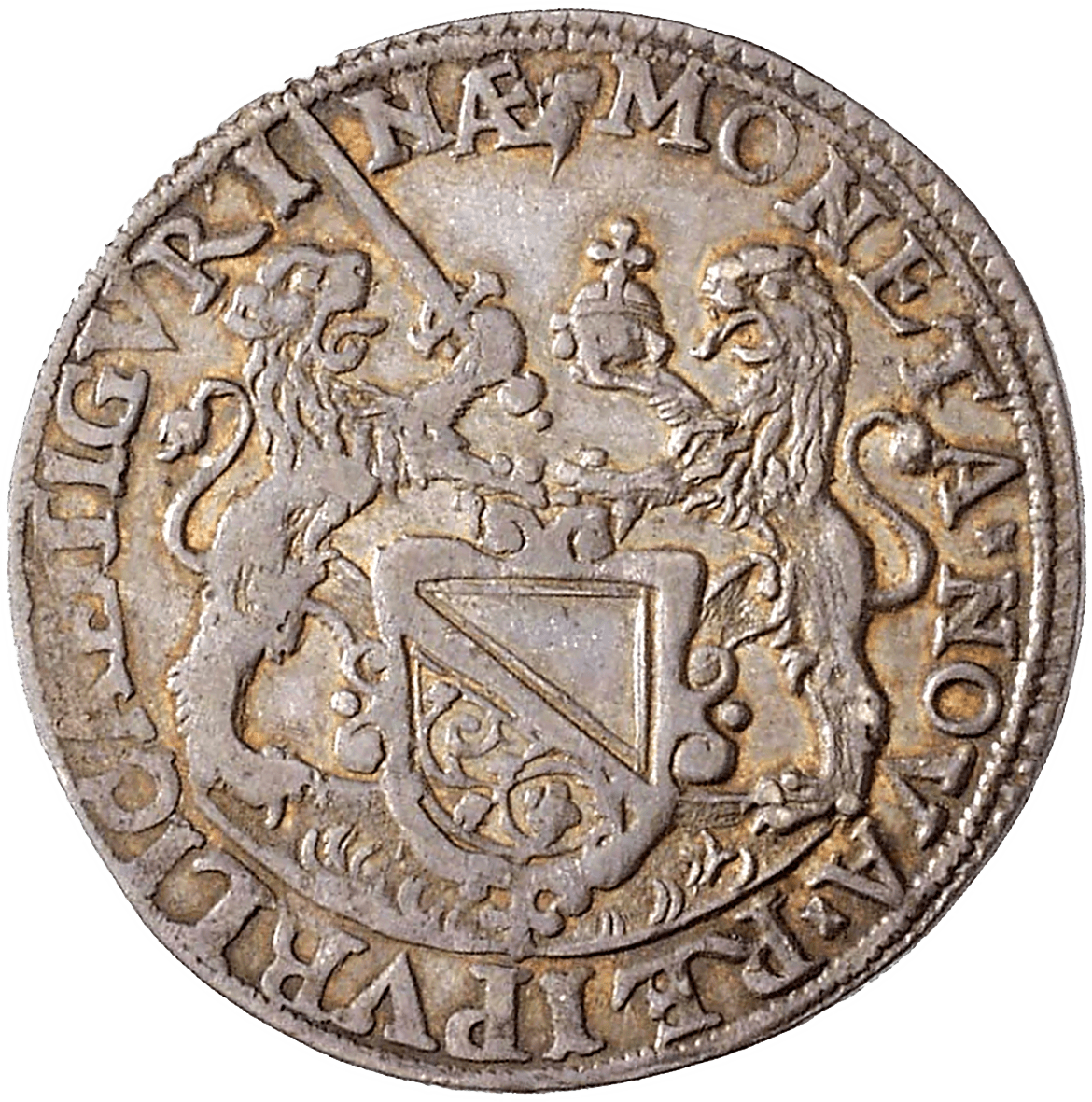 Holy Roman Empire, Rebublic of Zurich, 1/4 Taler 1652 (obverse)