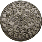 Holy Roman Empire, City of Zurich, Schilling 1589 (obverse)
