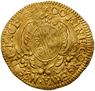 Republic of Zurich, 1/2 Ducat 1662 (obverse)