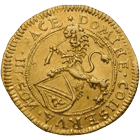 Republic of Zurich, 1/2 Ducat 1671 (obverse)