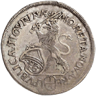 Republic of Zurich, 1/4 Taler 1673 (obverse)