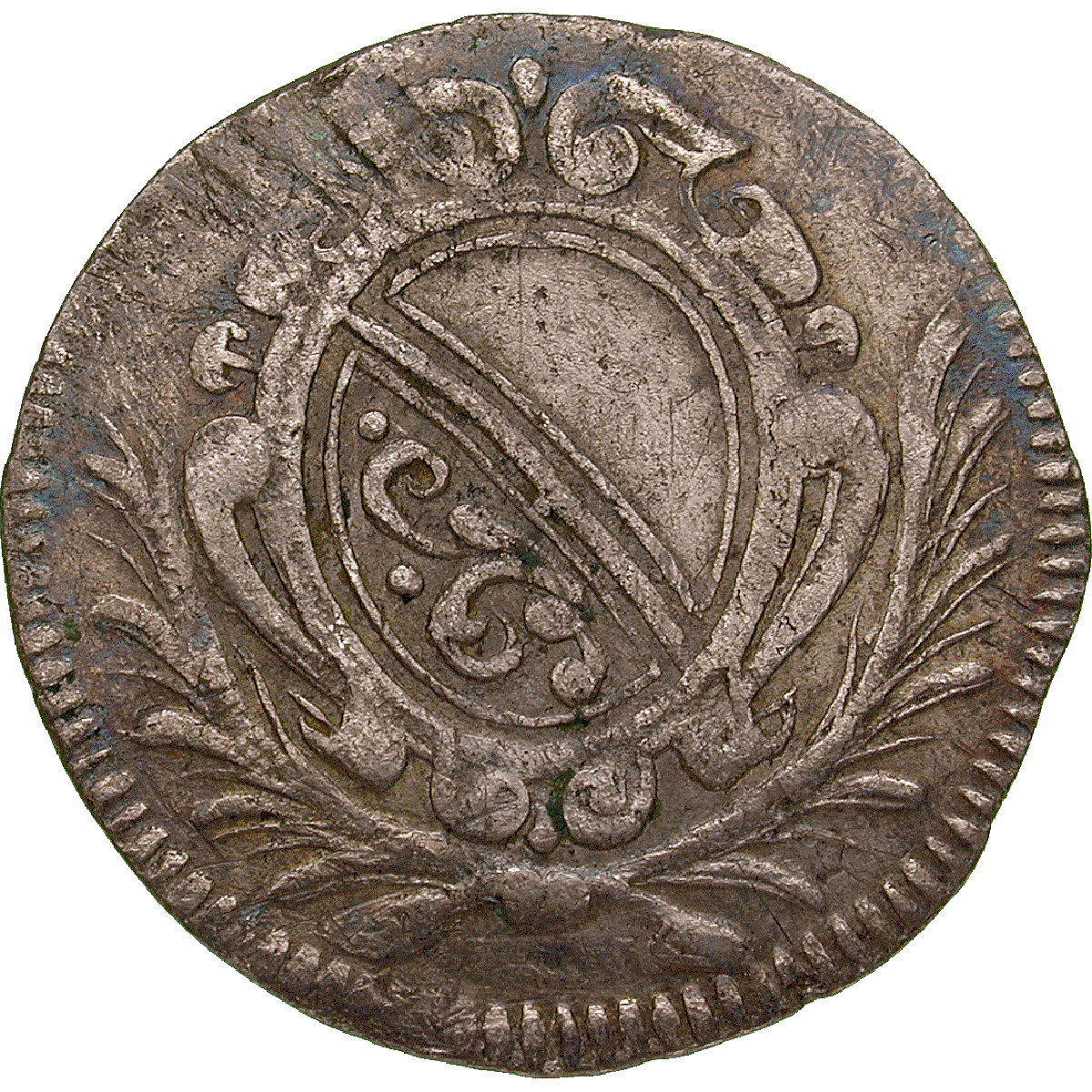 Republic of Zurich, 5 Schillings 1693 (obverse)