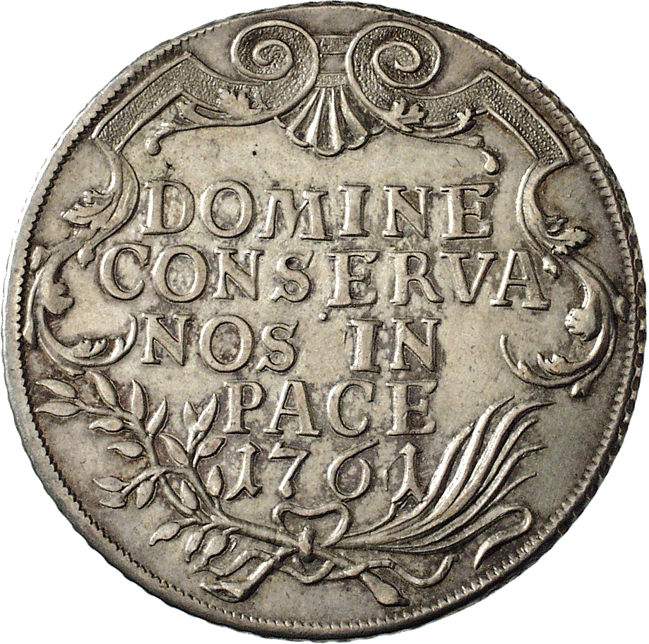 Republic of Zurich, Taler 1761 (reverse)